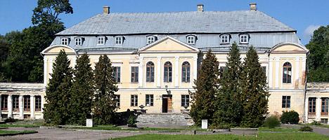 Дворцово-парковый ансамбль в деревне Святск
