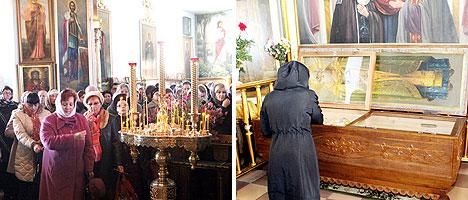 Свято-Покровская церковь, мощи святого праведного Иоанна Кормянского