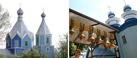Свято-Никольская церковь в Даниловичах и храм святителя Николая Чудотворца в деревне Старая Белица