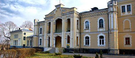 Дворец в деревне Прилуки