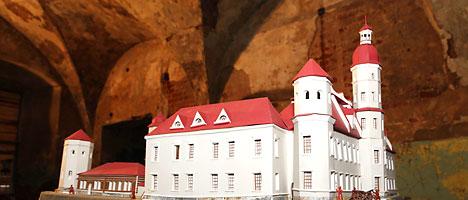 Быховский замок (макет реставрации)