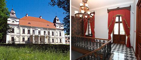 Niemcewicz estate in Skoki village