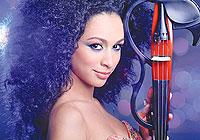 Violinist Maimuna