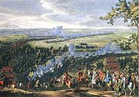 Битва при Лесной, картина П.Д. Мартена-младшего