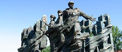 Мемориальный ансамбль в честь воинов Белорусского пограничного округа в Гродно