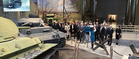 Экспозиция Музея истории Великой Отечественной войны