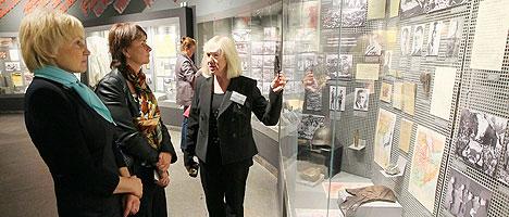 Экскурсіі ў Музеі гісторыі Вялікай Айчыннай вайны