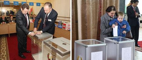 白俄罗斯选举