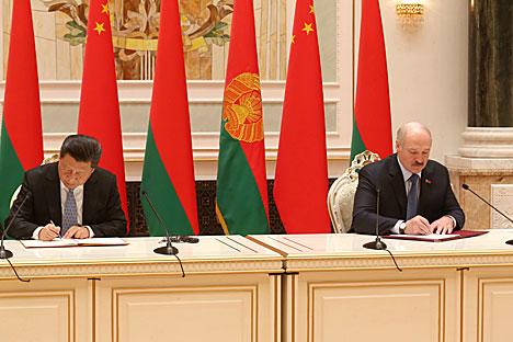 白俄罗斯共和国与中华人民共和国:战略伙伴关系