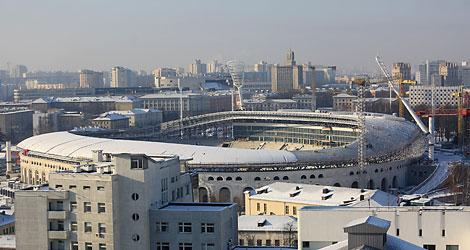 """Cтадион """"Динамо"""": завершение большой реконструкции"""