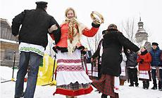 Folk game Tereshka's Wedding