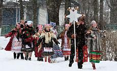 Folk rite Kolyady