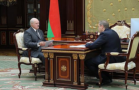 Lukashenko, Karanik discuss current situation in healthcare