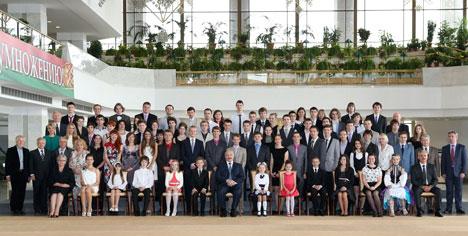Belarus President Alexander Lukashenko and the Youth