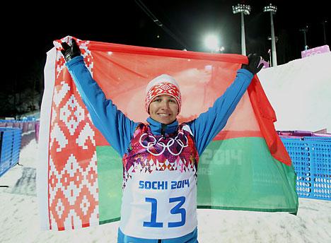 Belarusian freestyler Alla Tsuper