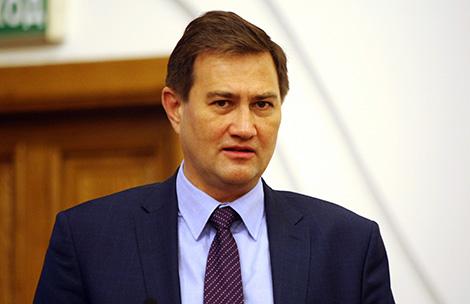 First Deputy Head of Belarus' President Administration Maksim Ryzhenkov