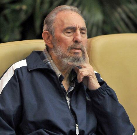 Leader of the Cuban Revolution Fidel Castro