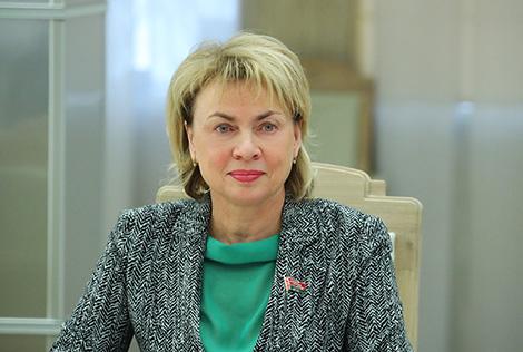 Deputy Speaker of Belarus' Council of the Republic Marianna Shchetkina