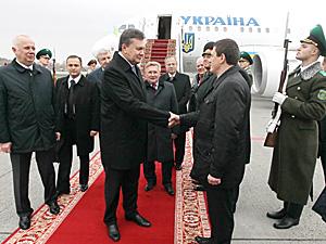 Viktor Yanukovych in Minsk