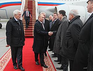 Vladimir Putin in Belarus