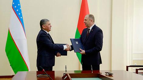 Belarus, Uzbekistan sign agreement on cooperation in legal matters