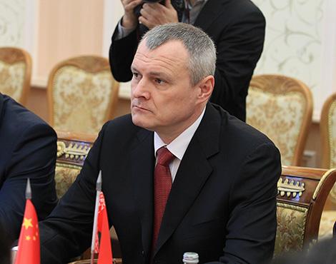 Belarus' Interior Minister Igor Shunevich