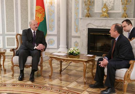 Alexander Lukashenko met with US Deputy Assistant Secretary Eric Rubin