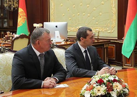 Lukashenko appoints aides to Belarus president in Minsk Oblast, Vitebsk Oblast