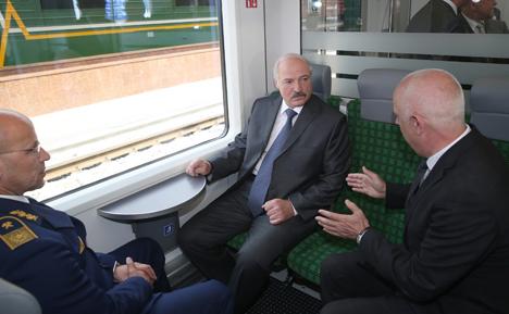 Gomel-Minsk regular electric railway route opened