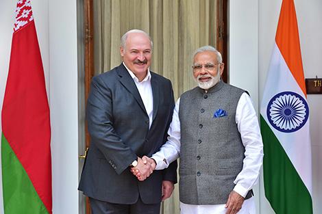Lukashenko, Modi hold official negotiations in New Delhi