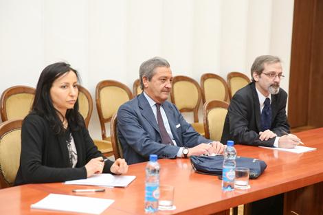 Makei, Rigoni discuss Belarus-PACE relations