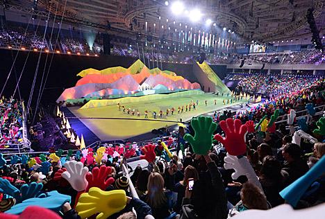 Lukashenko attends celebrations of Sochi 2014 Winter Olympics anniversary
