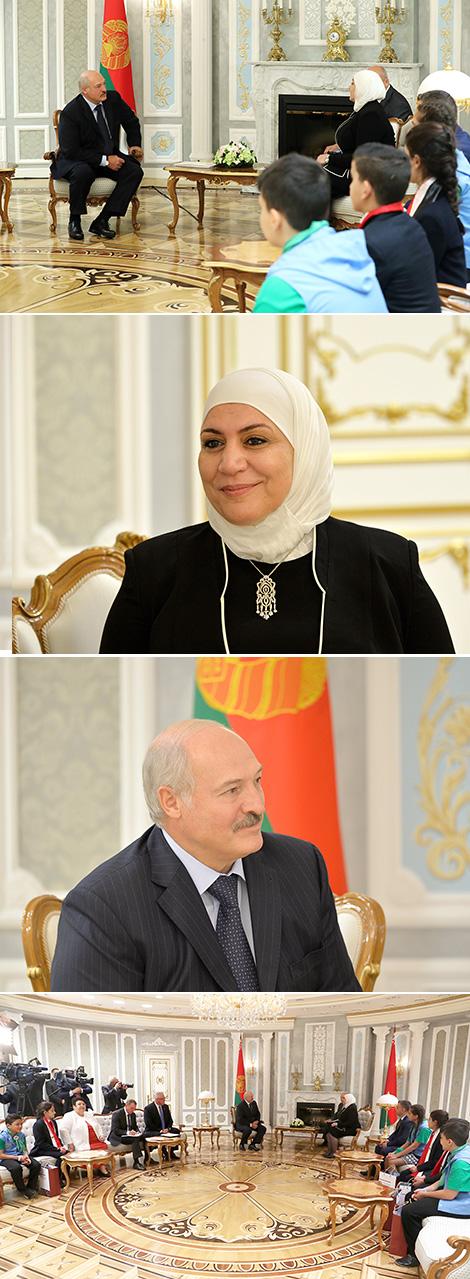 Лукашенко предложил разработать программу оздоровления и учебы детей из Сирии в Беларуси