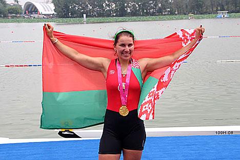 Белорусская спортсменка Кристина Староселец (фото НОК Беларуси (Полина Игнатенко))