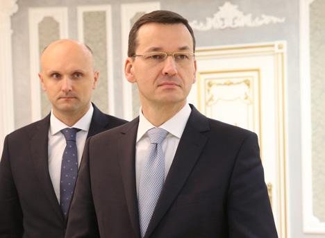 Заместитель председателя Совета министров, министр развития и финансов Польши Матеуш Моравецкий