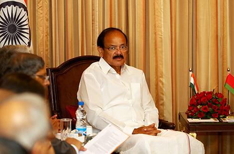 Вице-президент Индии Венкайах Найду