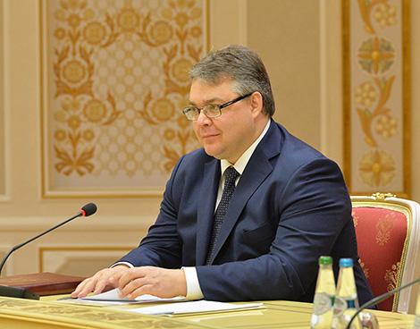Губернатор Ставропольского края России Владимир Владимиров