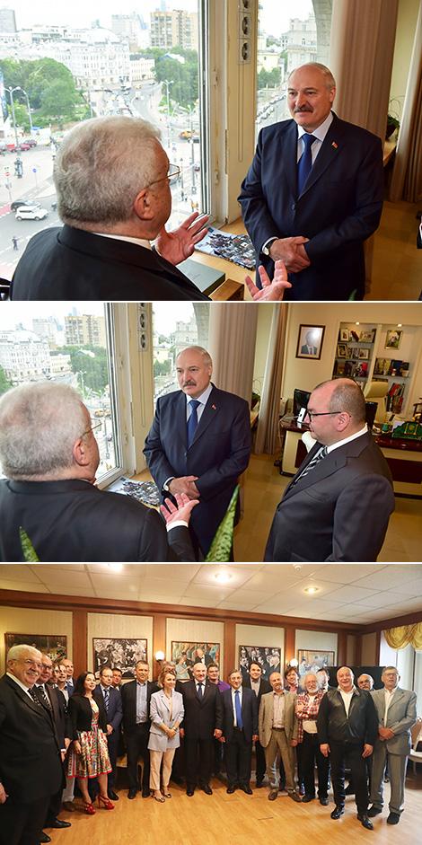 О Беларуси и России, Западе и Китае: Лукашенко встретился с Клубом главных редакторов ТАСС