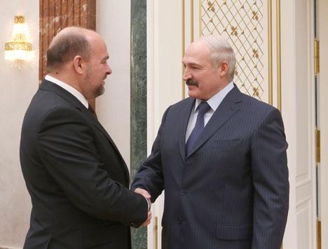 Александр Лукашенко на встрече с губернатором Архангельской области Игорем Орловым