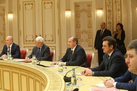 Лукашенко: Беларусь и Иркутская область должны найти резервы для наращивания взаимной торговли