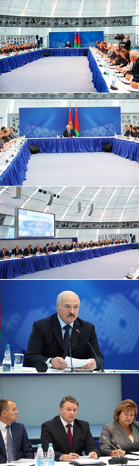 Заседание Исполкома НОК по вопросу проведения II Европейских игр