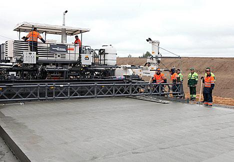 Строительство второй кольцевой дороги в Минске