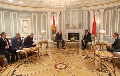 Лукашенко: Беларусь готова работать со Stadler Rail Group и реализовывать предложения ее руководства