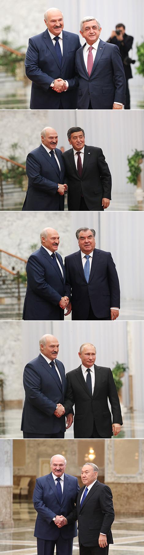 Во Дворце Независимости открылся саммит ОДКБ