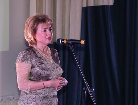 Заместитель председателя Совета Республики Национального собрания, председатель Белорусского союза женщин Марианна Щеткина