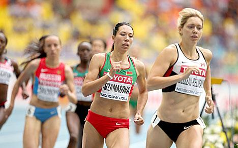 Белоруска Марина Арзамасова стала чемпионкой Европы в беге на 800 м
