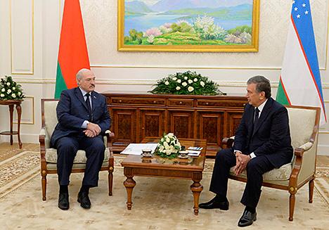 Лукашенко: Беларусь и Узбекистан имеют огромный потенциал для развития торгово-экономического сотрудничества