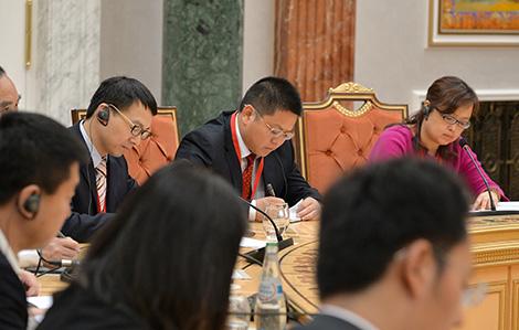 Лукашенко встретился с представителями китайских центральных и региональных СМИ