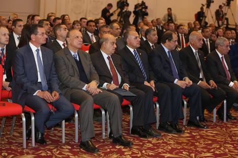 Открытие белорусско-египетского делового форума