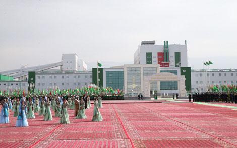 Лукашенко: Туркменистан должен стать флагманом калийного производства в Центрально-Азиатском регионе
